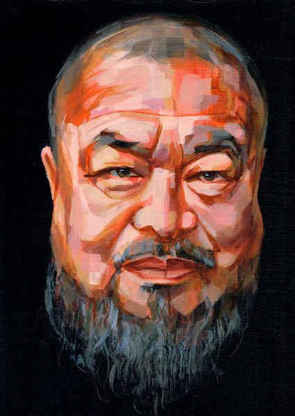 Ai Weiwei, portret