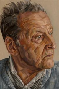 Lucian Freud, portret 60x40 cm