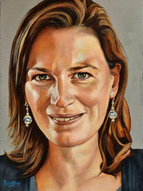 Portretschilderij Anne