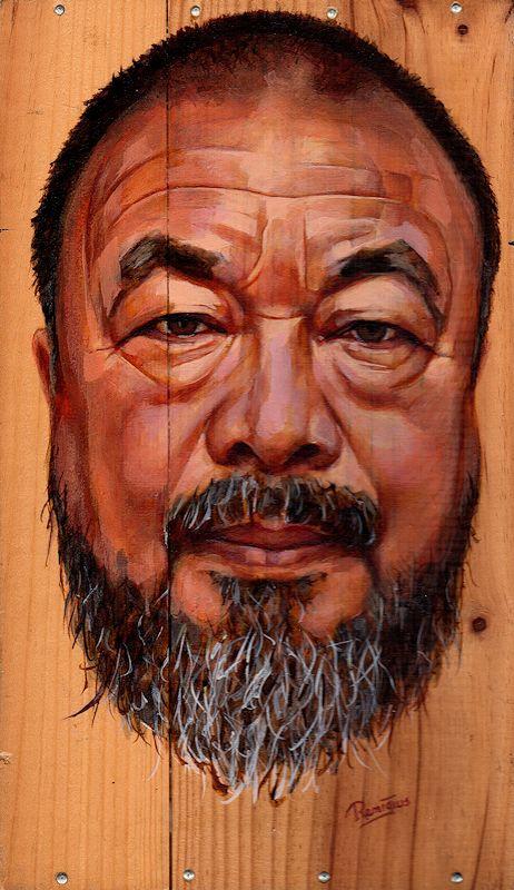 Portrait Ai Wei wei