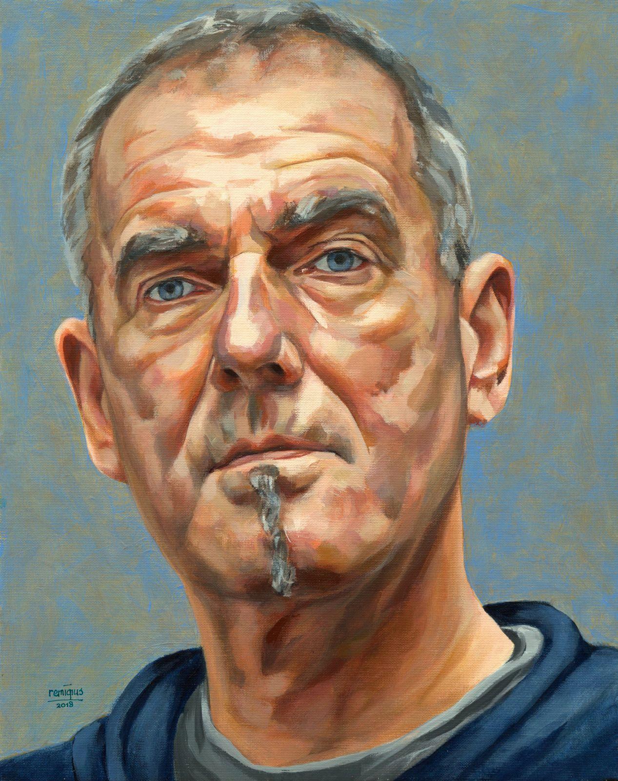 zelfportret schilder