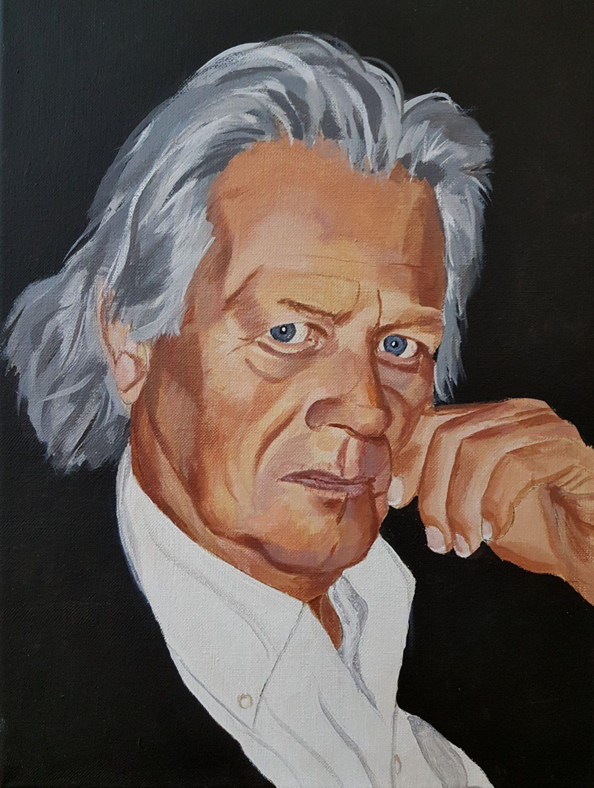 Zelfportret Pieter