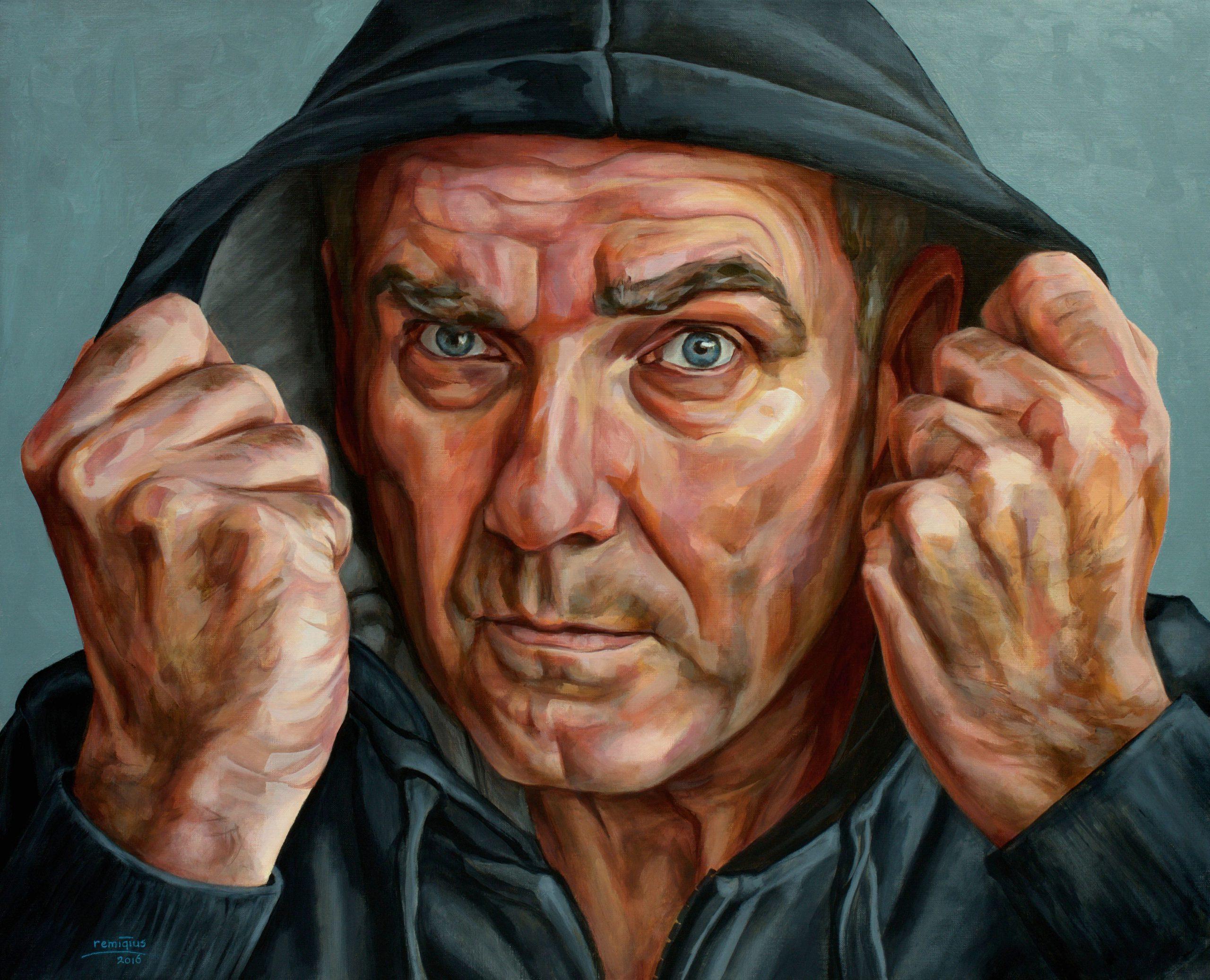 Zelfportret hoodie