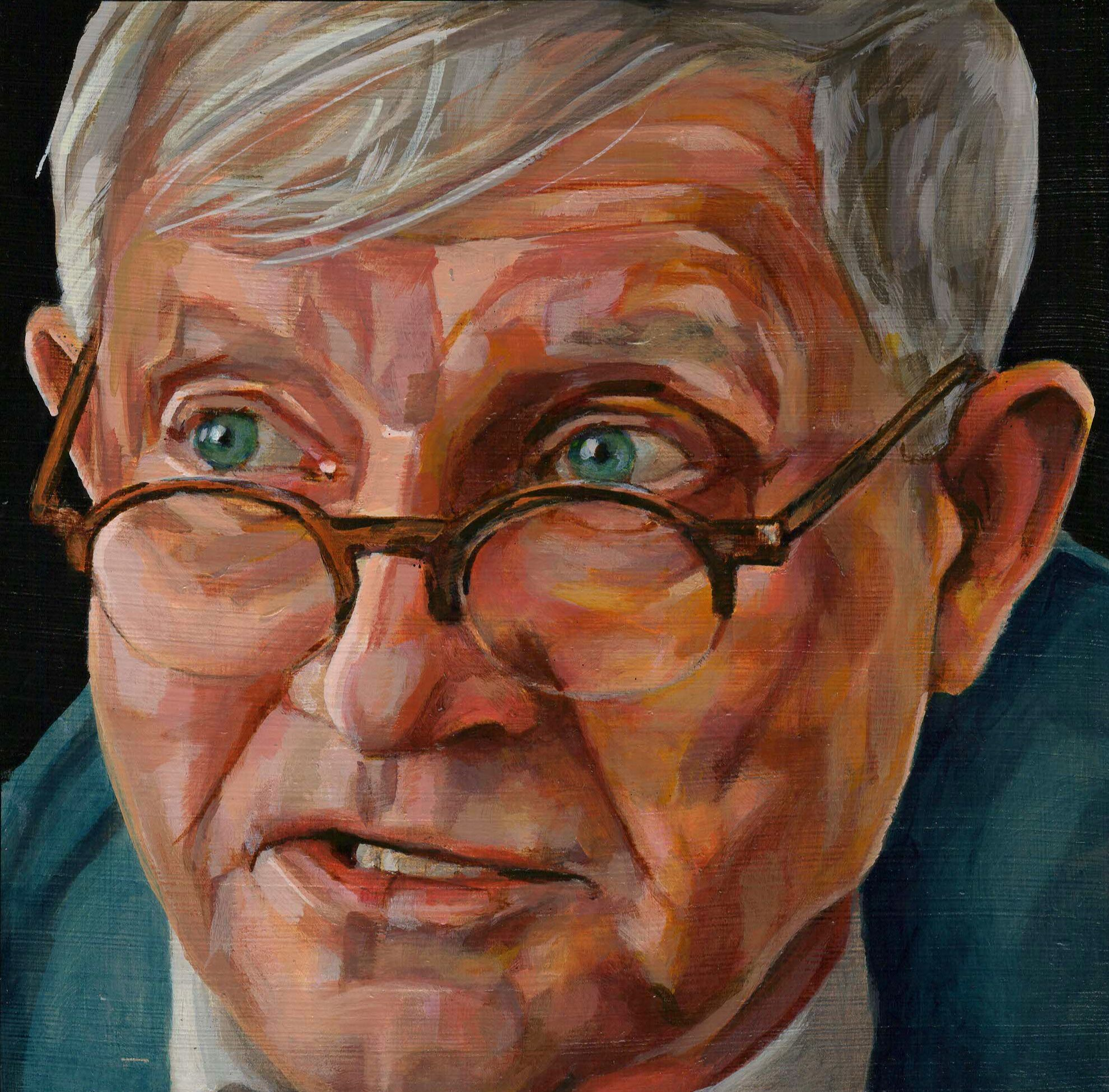 Portretschilderij David Hockney