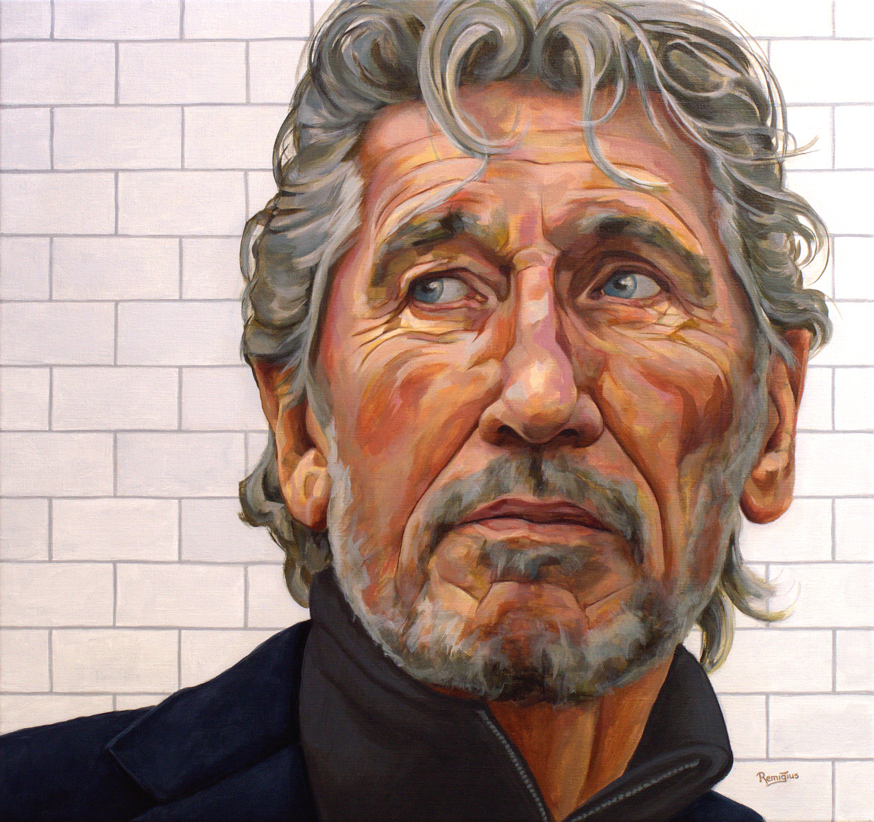 portrait roger waters
