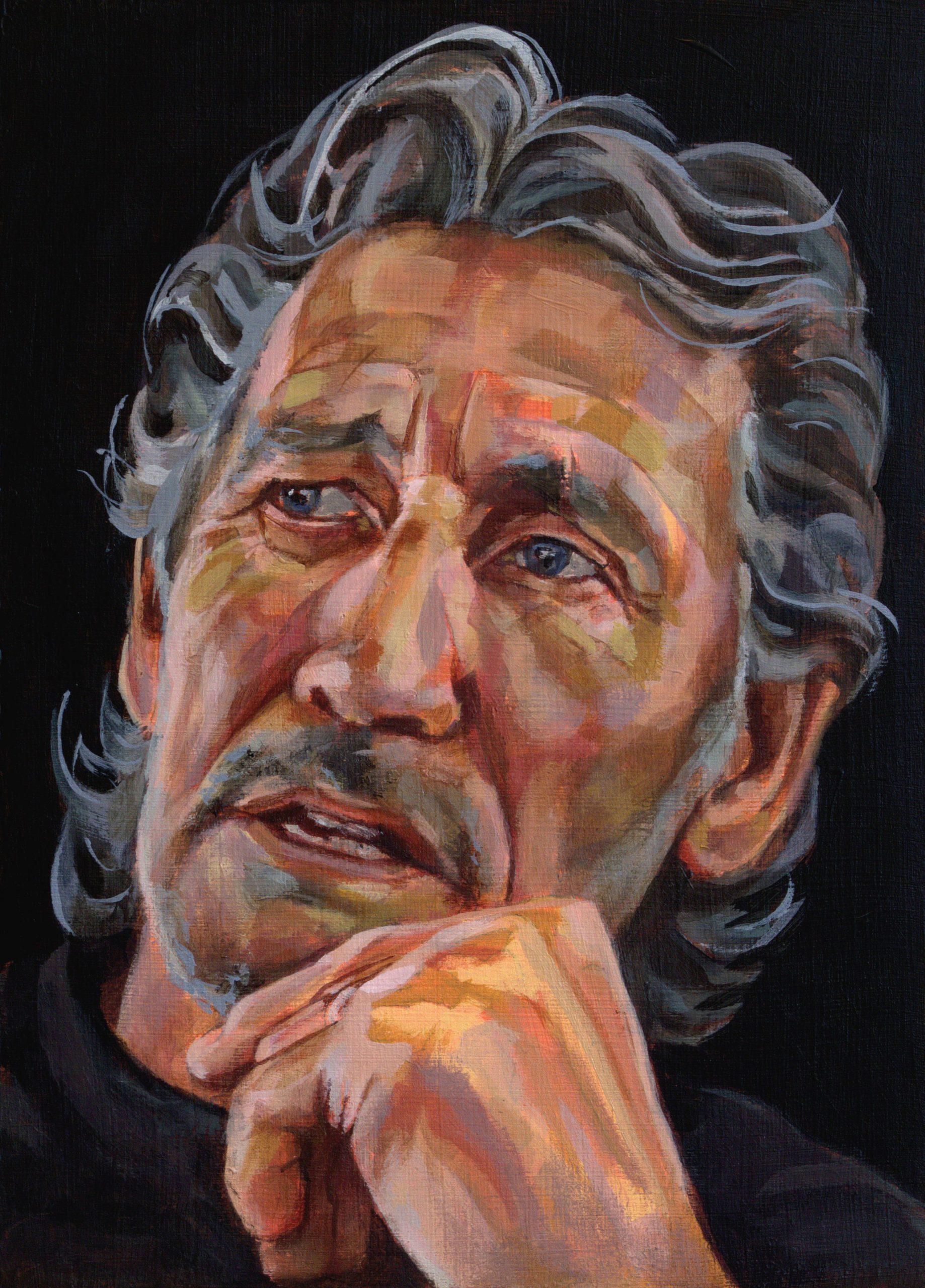 portretschilderij roger waters