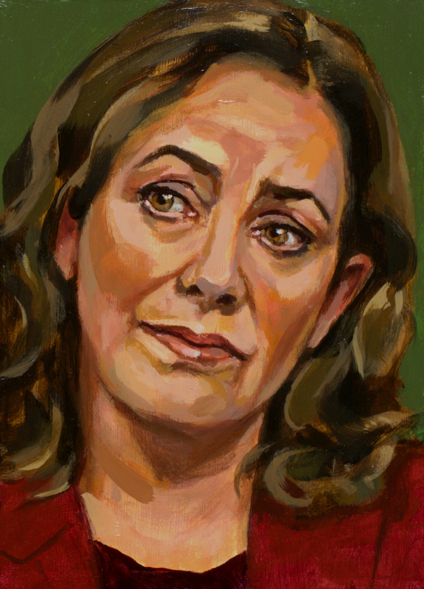 Femke Halsema, portret drieluik rechts