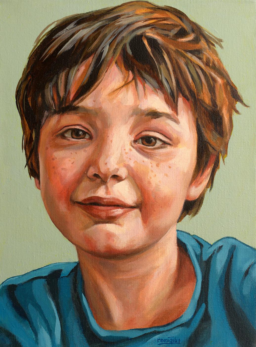portret mels