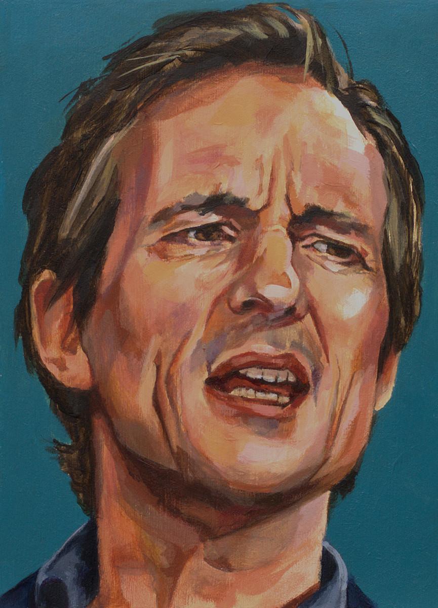 Michiel Vos, portret drieluik midden