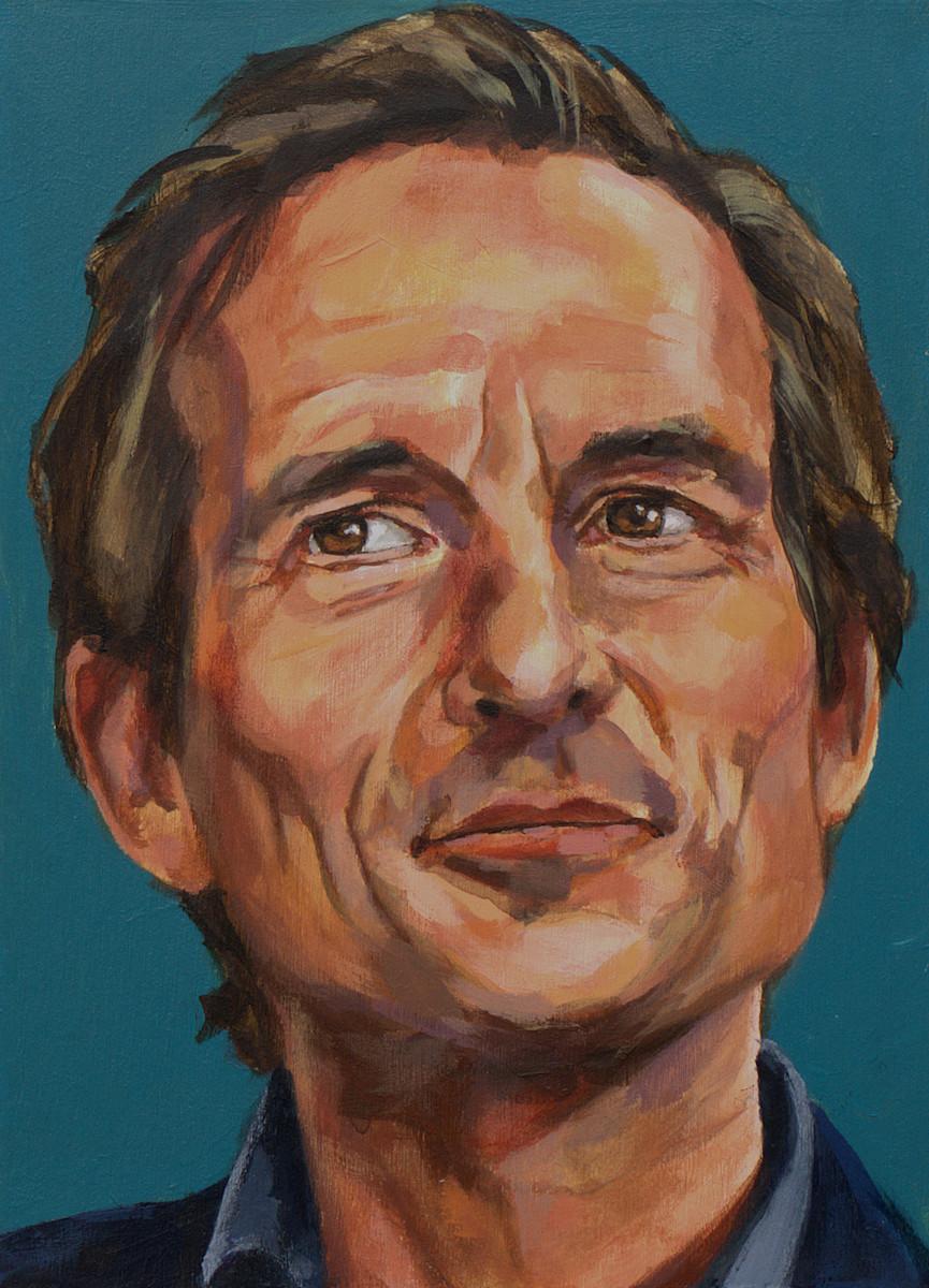Michiel Vos, portret drieluik rechts