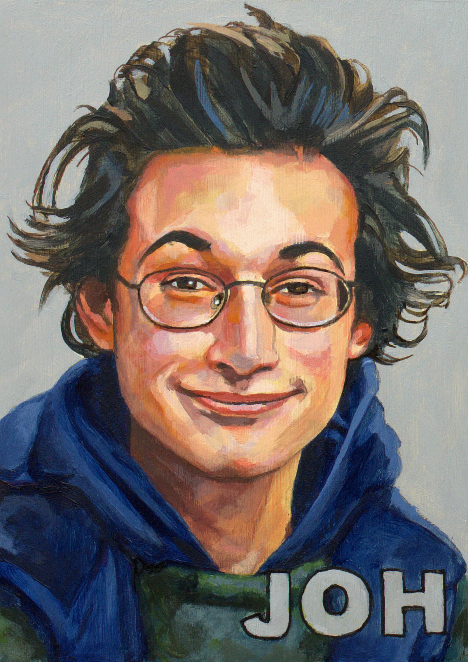 portret John Hamon