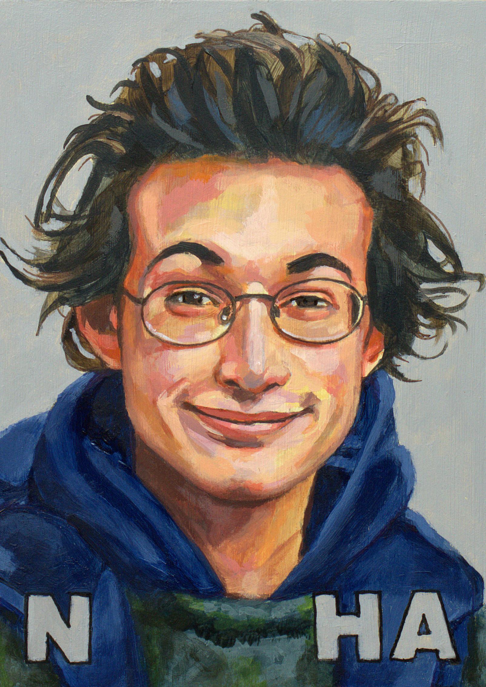 John Hamon schilderij