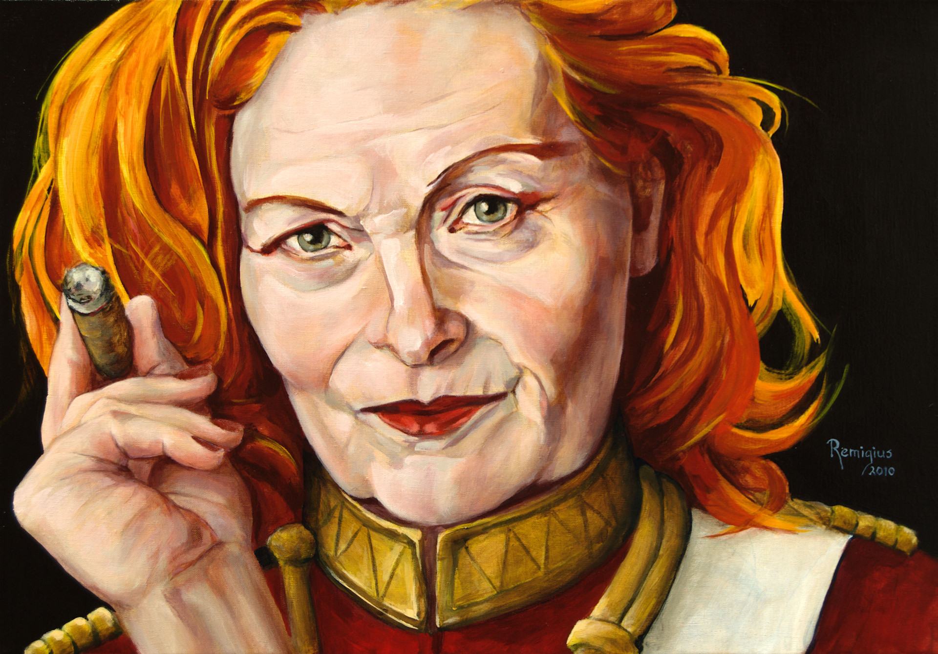 portret Vivienne Westwood