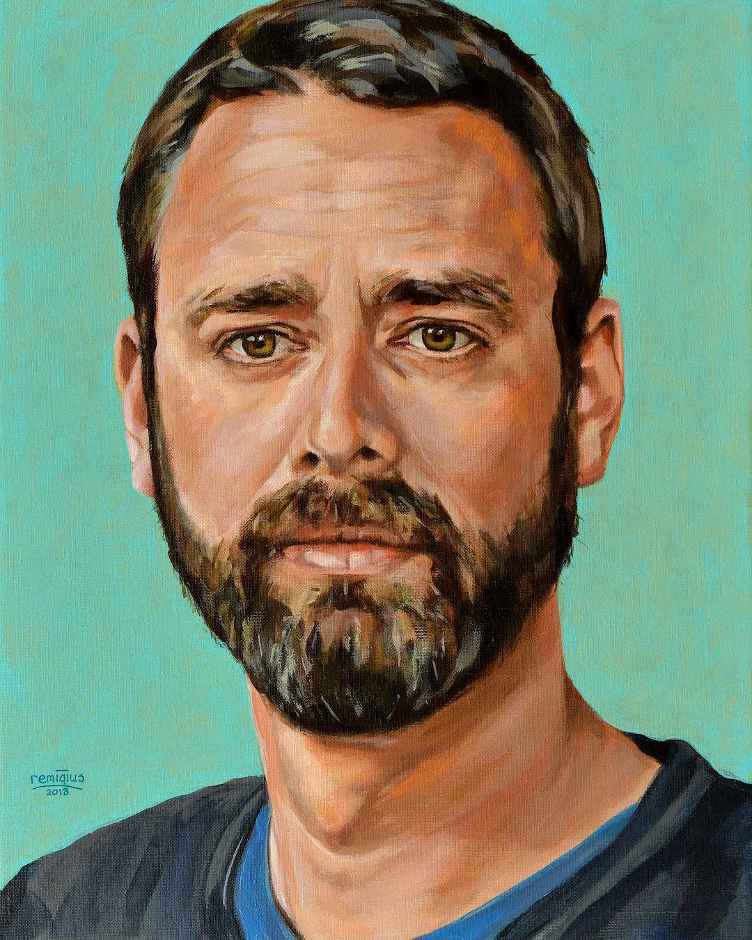 Portretschilderij van Robert